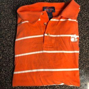 Clemson Tiger cotton polo shirt